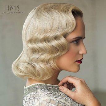 #wedding #bridal #classic #updo #hair #vintage #bride #hairstyle #editorial #redcarpethair #bridesmaid #specialoccasion #hairandmakeupbysteph #inspiration #ideas #waves #redlip #short