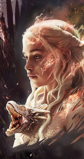 Game of thrones Daenerys art #Gameofthrones #Daenerys #cosplayclass
