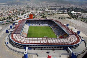 Estadio Hidalgo. La casa de los Tuzos se remodeló desde hace algunos años, junto con su complejo, aparece como uno de los mejores de México. Así luce desde del aire.