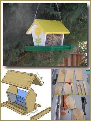 89 Unique DIY Bird Feeders – Full Step by Step Tutorials