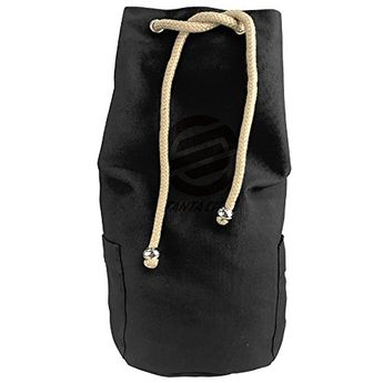 Santa Cruz Surf Skate Vertical Bucket Cylindrical Shaped Canvas Beam Port  Drawstring Sports Basketball Shoulders Backpack 61c5be6806016