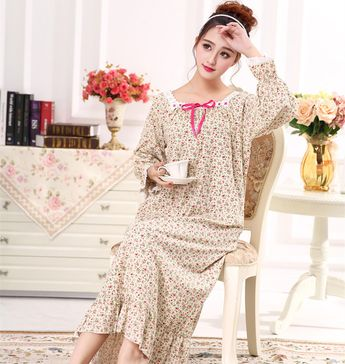 da5ba3f1a8 Spring and autumn women s 100% long-sleeve cotton lace coll