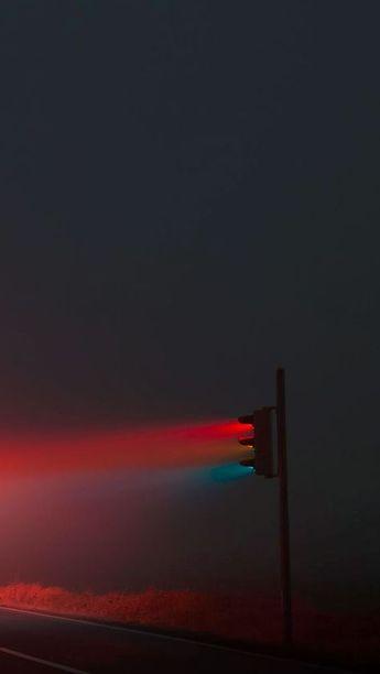 Wild Road Rural Stoplight #iPhone #7 #wallpaper