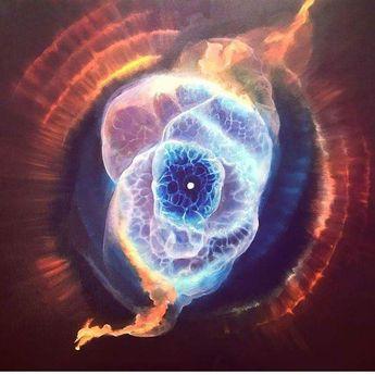 Cat's eye Nebula. Amazing colors... Credit: Hubble Space Telescope