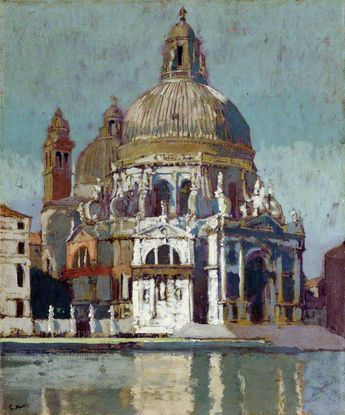 Walter Richard Sticker, The Athenaeum - Santa Maria della Salute, 1901, Royal Acad. of Art