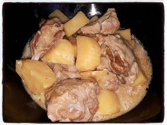 Sauté de dinde au fond de veau (cookéo