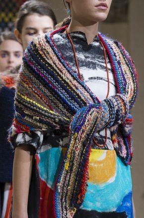 8176310af43 Daniela Gregis at Milan Fashion Week Fall 2017