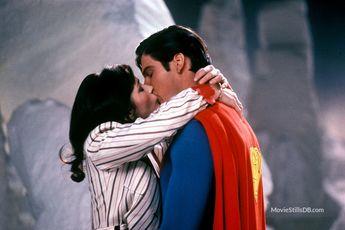 Superman II - Publicity still of Margot Kidder & Christopher Reeve