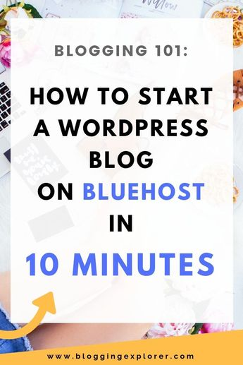 How to Start a Blog From Scratch - Step-by-step Bluehost WordPress Tutorial - How to start a successful blog to make money in 10 minutes. Learn how you can start a successful blog and make money.