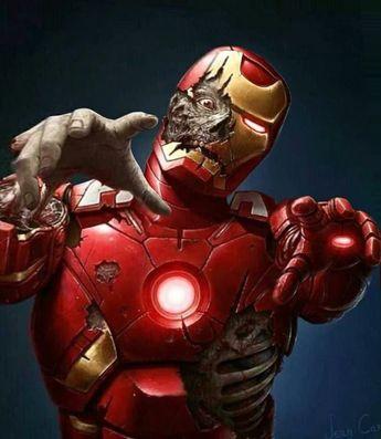 ▪️◾️ANIMATED PHOTO▪️ ZOMBIE IRON MAN◾️▪️Credits: Zombie Iron Man, Jean Carlier▪️Applications: Flugo