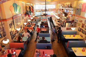 Le Big Daddy's : un Fast Food avec Ambiance années 50 à New York