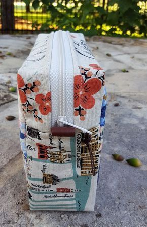 It's Sew Illustrated: Patchwork Trinket Case Tutorial