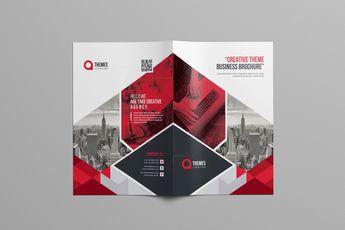 Print Bi-Fold Brochure Design 002922 - Template Catalog