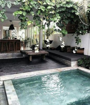 30+ Stunning Small Backyard Designs Ideas With Pool