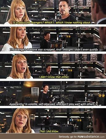 Gotta love Tony Stark