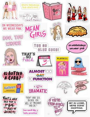 List of attractive mean girls aesthetic burn book ideas and
