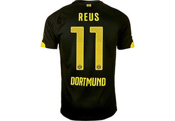bada2bc12 2015 16 Puma BVB Marco Reus Away Jersey. Get yours from www.soccerpro