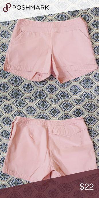Aventura shorts Cute light pink organic cotton shorts. Size 6. Approx  measurements laying flat ce7b7bbc255dc