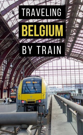 A Guide to Traveling Belgium by Train