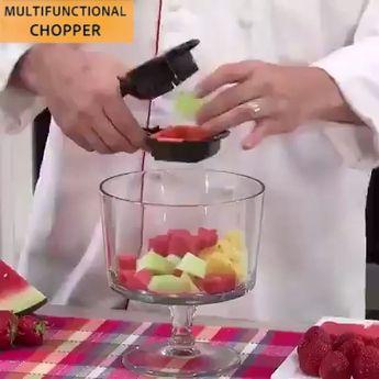 Multifunctional Fruit and Vegetable Dicer Chopper