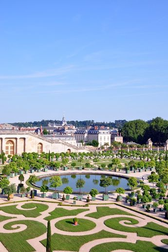 L' Orangerie, Versailles palace by Maelo Paris