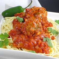 Mexican-Style Spaghetti and Meatballs - Allrecipes.com