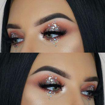 Stardust Glitter Makeup