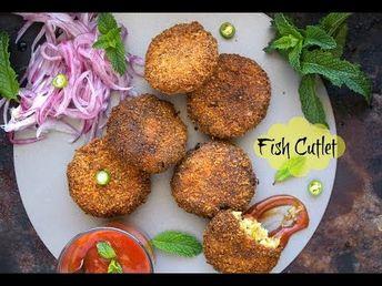 Fish Cutlet   Indian Fish Cakes   fish cutlet kerala Video