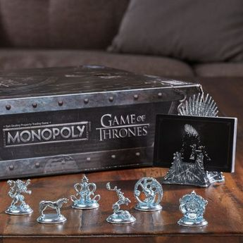 Monopoly - Game of Thrones Board Game for Adults - Multicolor