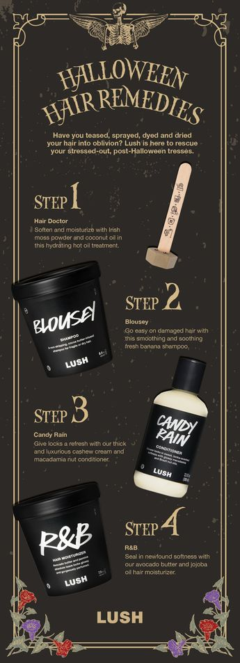 Let's face it, you've probably put your hair through something traumatic to fit your Halloween look. Ensure you're replenishing moisture and strength with this easy haircare routine that will get you back on track.