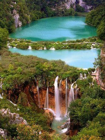(CONTEST JUIN) - Croatie, les seize grands lacs, reliés entre eux par 92 cascades de Plitvicka