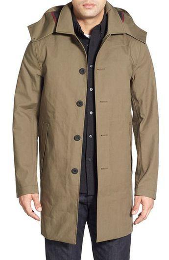 f2c45505 Victorinox Swiss Army® 'Lenzburg' Longline Waterproof Jacket