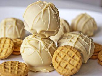 Nutter Butter Truffles   So Freakin' Delicious!