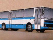 Karosa C 734/735 Bus Free Vehicle Paper Model Download