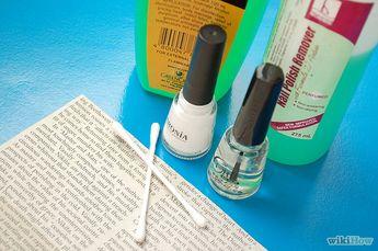 Make Newspaper Nails
