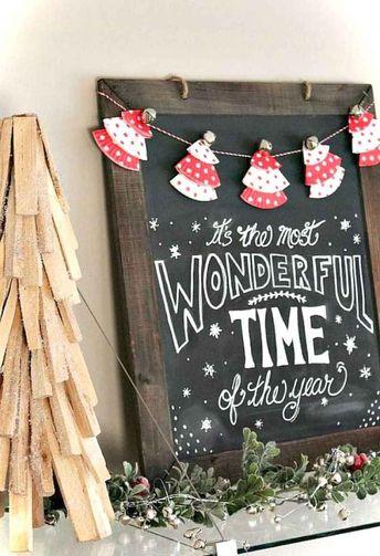 75+ Farmhouse Christmas Signs & Wall Decor
