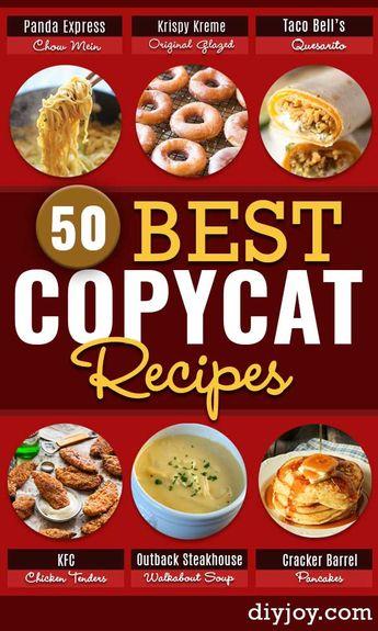 50 Best Copycat Recipes From Your Favorite Restaurants