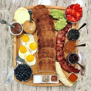 Toast Board by The BakerMama