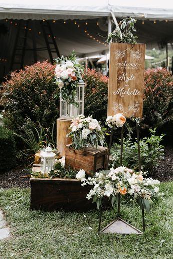 Totally Romantic Black-Tie Garden Wedding