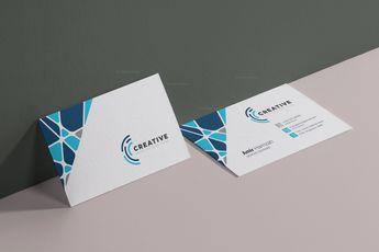 Modern Visit Card Template 002930 - Template Catalog