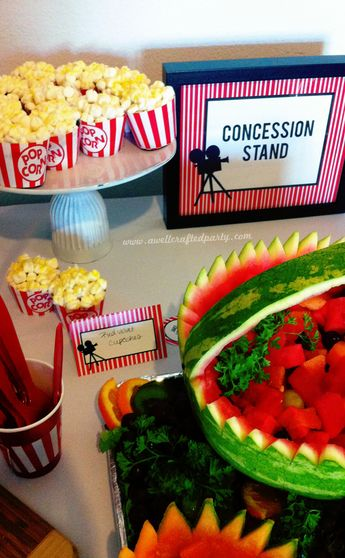 a well crafted party blog archive real party a movie themed bridal shower