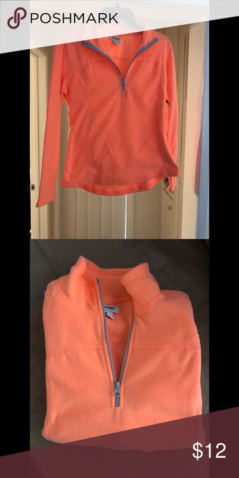 NWT: orange fleece NWT: orange fleece Old Navy Tops