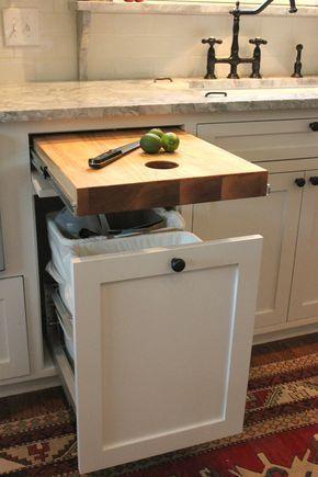 Planning a Kitchen Renovation? Consider these cool storage hacks #homedecorationkitchen