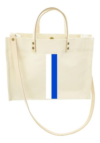 3bc28bd3b3e2 Mimi Bag Natural - French Blue and White Stripe