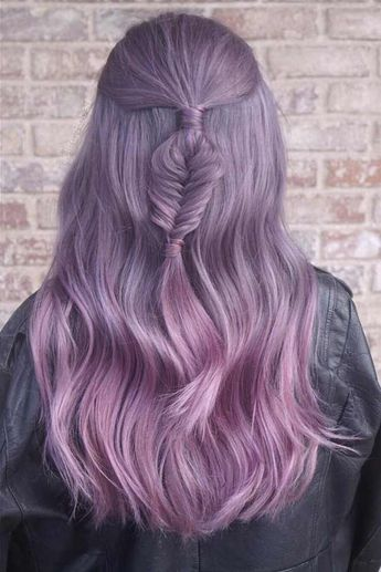 33 Light Purple Hair Tones That Will Make You Want to Dye Your Hair