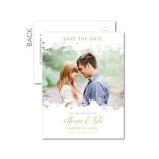 Sweetly Silhouetted Save the Date