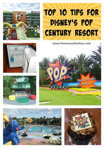 Pop Century Resort Top Ten Tips