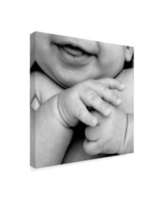 Sharon Forbes 'Get Happy' Canvas Art - 24  x 24