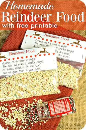 Reindeer Dust Is The Perfect Free Printable For Your Stude