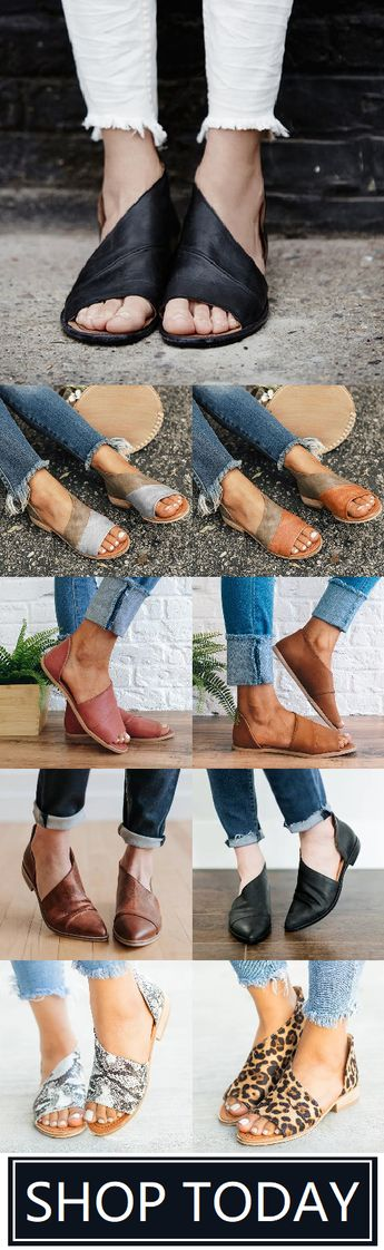 🛒Shop Now>>🌹 Chic Side Open Sandals for You.Best Gift at Best Price.Buy More Save More!